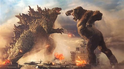 godzilla  king kong fight night  hd wallpapers hd