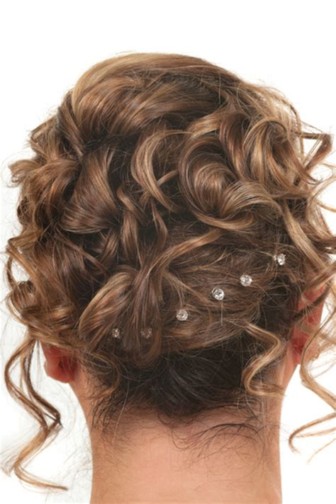 curly evening hairstyles curly updo prom hairstyles