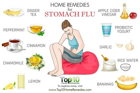 Home Remedies For Stomach Virus home remedies for stomach flu top 10 home remedies