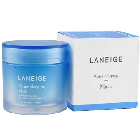 Laneige Water Sleeping Mask Di Counter jual laneige water sleeping mask 70ml original yeppeun co id