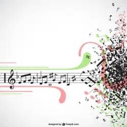 music explosion vector vector free download