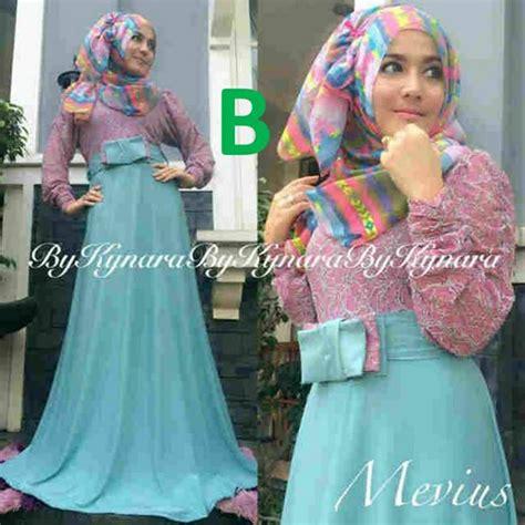Azzura 643 09 Dress Wanita mevius dress b baju muslim gamis modern