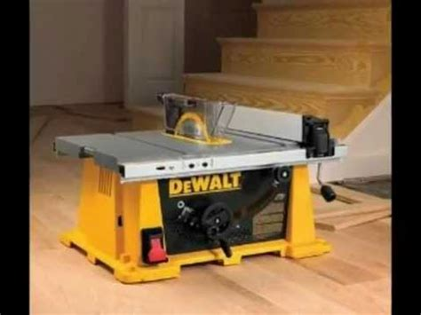 Wood From Home Dewalt Dw744xrs Table Saw How Deluxe
