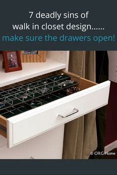 7 deadly sins for a columbus custom walk in closet design 1000 images about an organized closet on pinterest