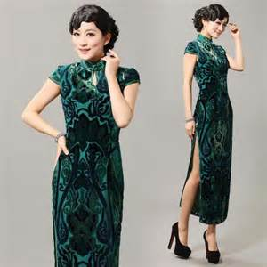 Sleeve qipao modern cheongsam long chinese dress shop quality modern