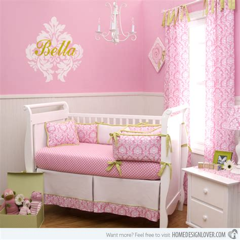 Welcome Home Baby Decorations by 15 Pink Nursery Room Design Ideas For Baby Girls Home