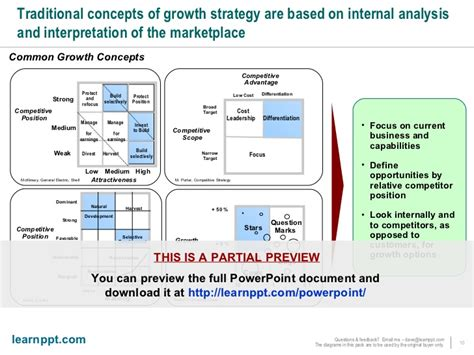 negotiation strategy template mckinsey growth strategy toolkit