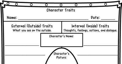 Character Traits Worksheet Pdf by 41 Best Images About Multi Grade Classroom On