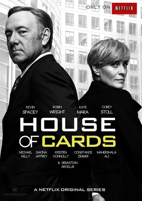 House Of Series by House Of Cards Tv Series Poster By Marrakchi On Deviantart