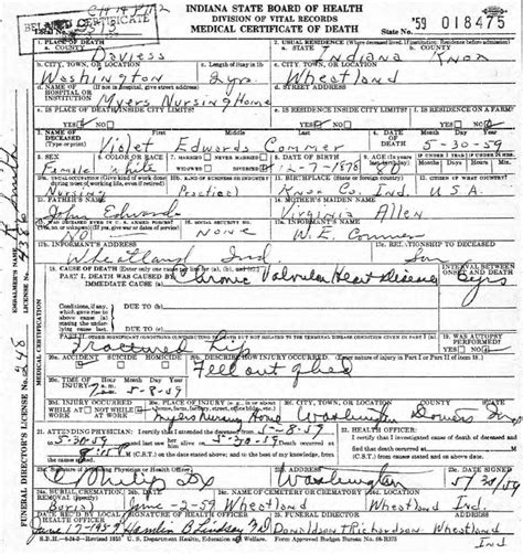 Marriage Records Indiana Free Finding Indiana Birth Marriage And Records Indiana State Library