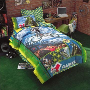 dirt bike bedding x games motocross bedding for boys