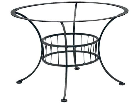 Woodard Easton Wrought Iron Chat Table Base Only 1n5400 Wrought Iron Patio Table Base
