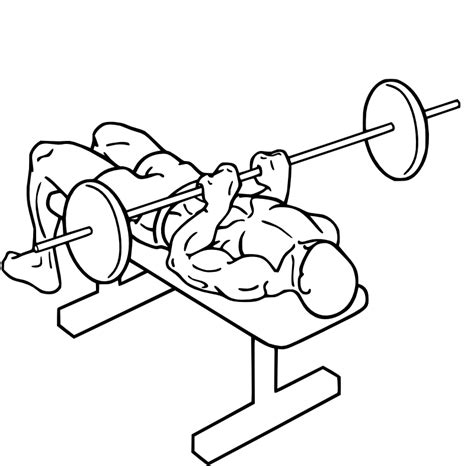 narrow grip bench presses bench press narrow grip