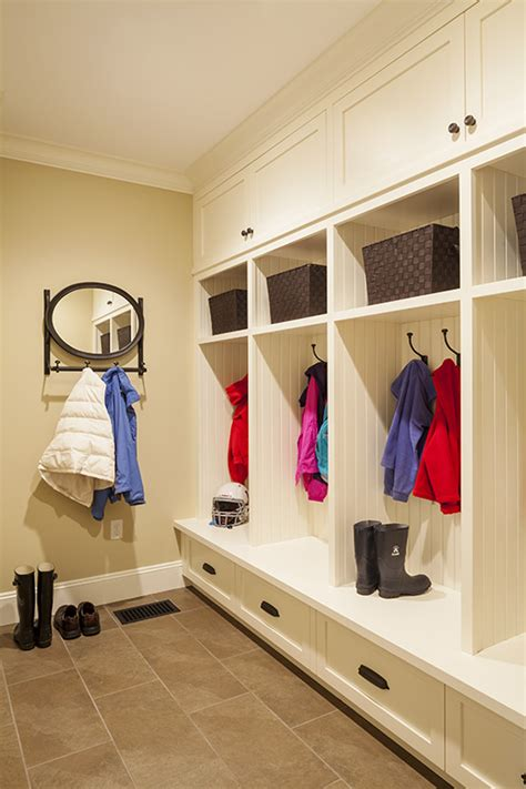 make your own mud room lockers the polkadot chair mudroom cubbies my new organized mudroom the sunny side