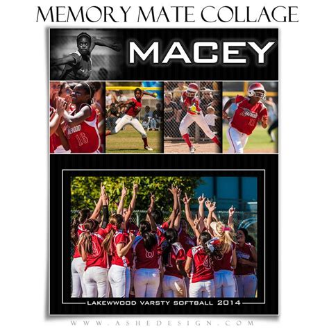 Sports Memory Mates 8x10 Pure Performance Ashedesign Photoshop Memory Mate Templates