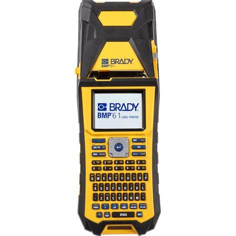 Brady Label Printer brady bmp 61 held label printer bmp61 qwerty uk
