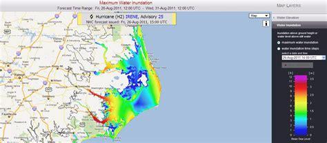 the original weather update on hurricane irene