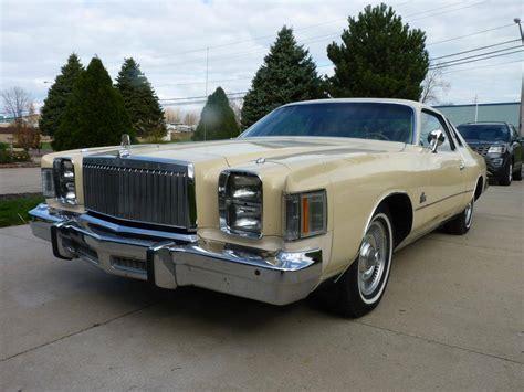 Chrysler Cordoba For Sale by 1979 Chrysler Cordoba For Sale 2030232 Hemmings Motor News