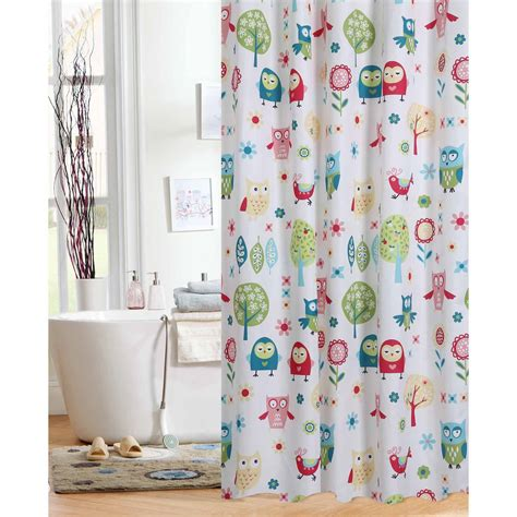 owl shower curtain target sea creature shower curtain best inspiration from