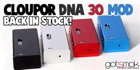 Zlebox Dna 30 Box Mod cloupor dna 30 box mod 69 99 vape deals