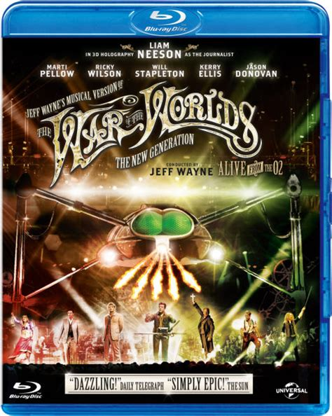 Alive Story Extended Generation jeff waynes musical version of the war of the worlds the new generation alive on stage