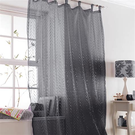 black and silver voile curtains popsicle black sparkle voile curtain panel tonys textiles
