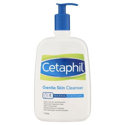 7 Best Cleansers by Best Price Cetaphil Gentle Skin Cleanser 1l Irritated
