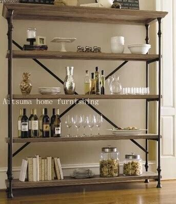 country style shelving country style wrought iron wood bookcase shelves