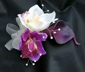 purple corsage plum purple corsages debbiecoflowers silk wedding bouquets silk bridal bouquets and