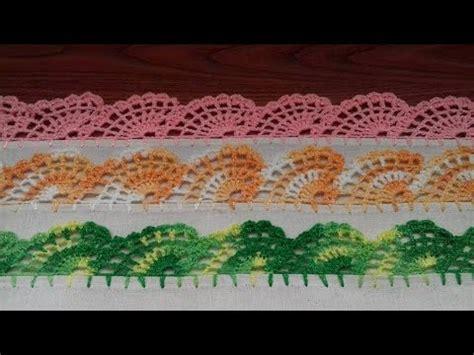 orillas para servilletas una vuelta orilla para servilleta o toallas de cocina abanicos 12