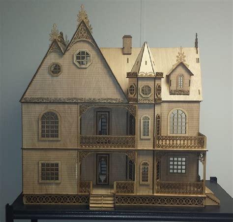 large doll house kits jasmine gothis victorian 1 12 dollhouse