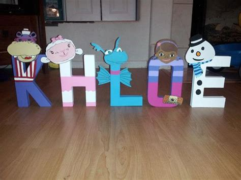 doc mcstuffin bedroom ideas elegant this little miggy doc mcstuffins character letters by mommyhomemadeframes on