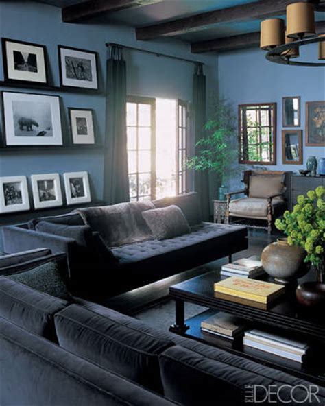 elle decor celebrity homes private viewing celebrity living rooms mad about the house