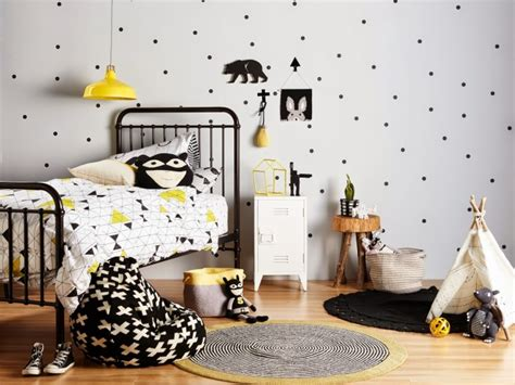 yellow black and white bedroom ideas black and white kids room yellow accents little spaces