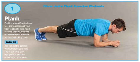 oliver jedre plank exercise workouts plank exercises routine plank variations