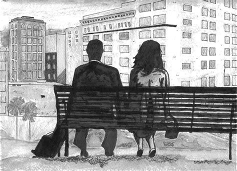 bench from 500 days of summer happybluemondays on beş dakika