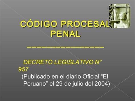 decreto legislativo n 1229 diario oficial el peruano rol de la pnp en el ncpp
