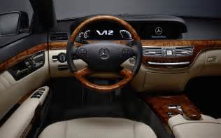 Inside Mercedes 2010 Mercedes S Class Interior Wallpaper Hd Car