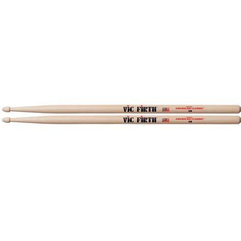 Stik Drum Vic Firth American Classic 5b Tip X5bn vic firth 5b american classic wood tip drum sticks vic