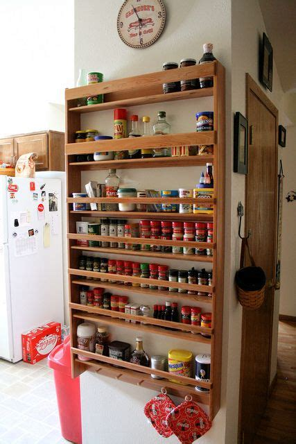 diy wooden wall spice rack diy wall mounted spice rack woodworking projects plans