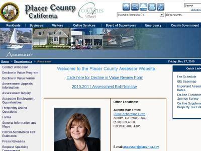 Ca Gov Records Placer Records Placer County Records California