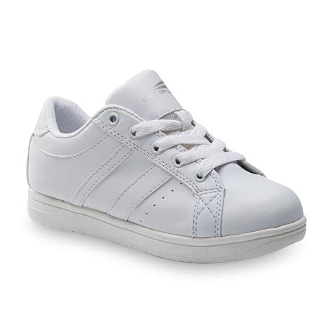 boys white athletic shoes athletech boy s hawk 2 athletic shoe white shoes