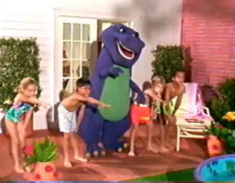 barney backyard gang previews image barney and the kids png barney wiki
