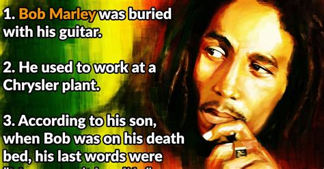 bob marley facts biography 26 chilled facts about bob marley
