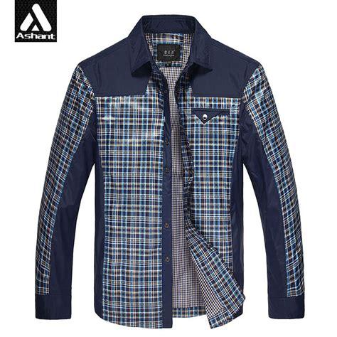 2016 s king size xxxl 4xl 6xl 7xl plaid grid shirt