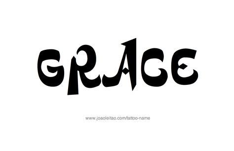 tattoo name grace grace name tattoo designs