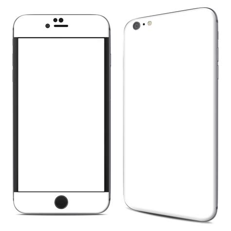 Iphone X Coloring Page by Apple Iphone 6 Plus Skin Solid State White By Solid