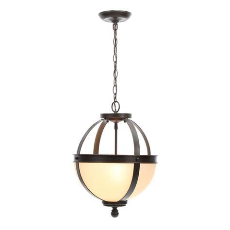convertible pendant light sea gull lighting sfera 2 light autumn bronze semi flush mount convertible pendant with cafe