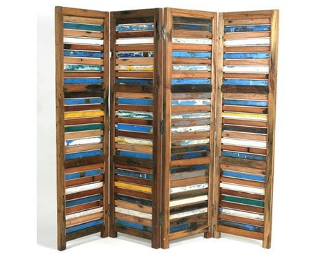 Reclaimed Wood Room Divider Room Divider From All Reclaimed Wood My Style