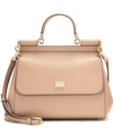Dg Dolce And Gabbana Suzanne Satchel by Lyst Dolce Gabbana Miss Sicily Medium Leather Shoulder